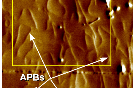 New publication in Applied Physics Letters –  visualization of antiphase boundaries
