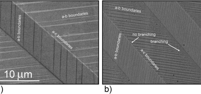 What happens when you bent magnetic shape memory material ? Find out in our new article!